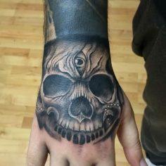 #skulltattoo #intenzetattooink #tattoo #tattoo #dovme #dovmesanati #dövme #tatto…