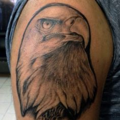 #eagle #eagletattoo #iphonesia #igdaily #wiew #firsttattoo #blackgraytattoo #avc…