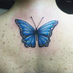 #butterfly #butterflytattoo #tattoo #dovme #dovmesanati #dövme #tattooturkiye  #…