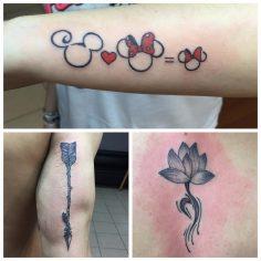 #mickey #lotus #arrow #tattoo #dovme #dovmesanati #dövme #tattooturkiye  #tattoo…