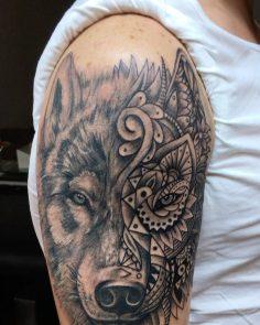#wolftattoo#intenzetattooink #tattoo #nofilter #tattoo #dovme #dovmesanati #dövm…