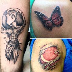 #atlastattoo #turkishflagtattoo #butterflytattoo #intenzetattooink #tattoo #nofi…