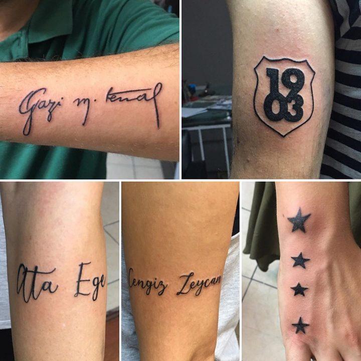 #atatürkimzası#1903tattoo#startattoo#texttattoo #intenzetattooink #tattoo #tatto…