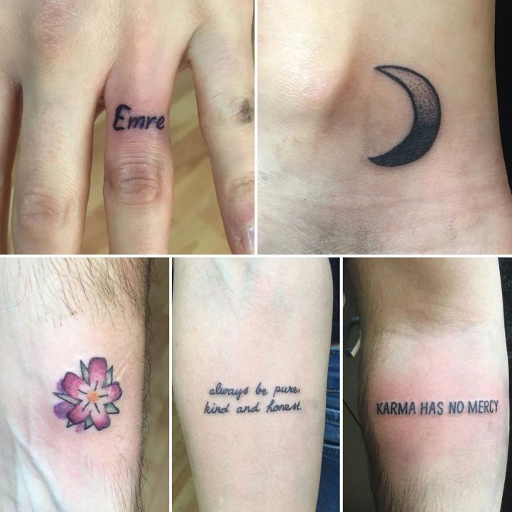 #texttattoo #smalltattoos #intenzetattooink #tattoo #tattoo #dovme #dovmesanati …
