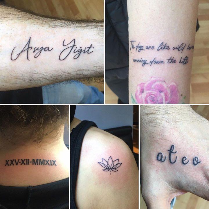 #textattoo #smalltattoos #intenzetattooink #tattoo #tattoo #dovme #dovmesanati #…