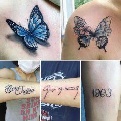 #butterflytattoo#atatürkimzasıdövmesi#1903dövmesi#texttattoo #intenzetattooink #…