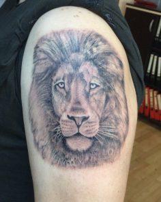 #liontattoo#blackgraytattoo #intenzetattooink #tattoo #tattoo #dovme #dovmesanat…